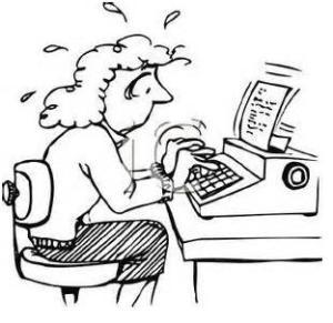 lady typewriter 1
